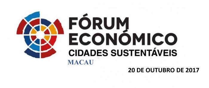 Fórum Económico Cidades Sustentáveis, em Macau.