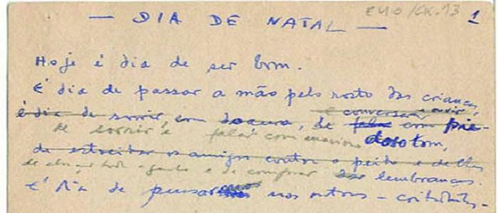 António Gedeão, Dia de Natal
