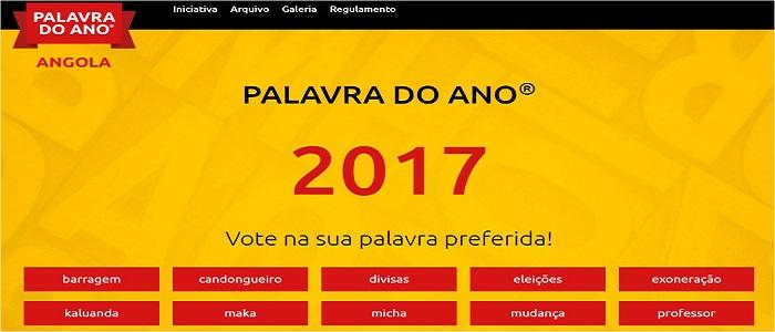 """""""Exoneração"""" à frente na votação para Palavra do Ano em Angola"""