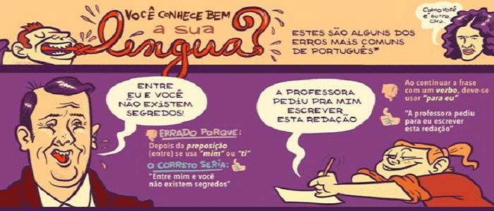 Os 10 erros de português mais cometidos pelos brasileiros
