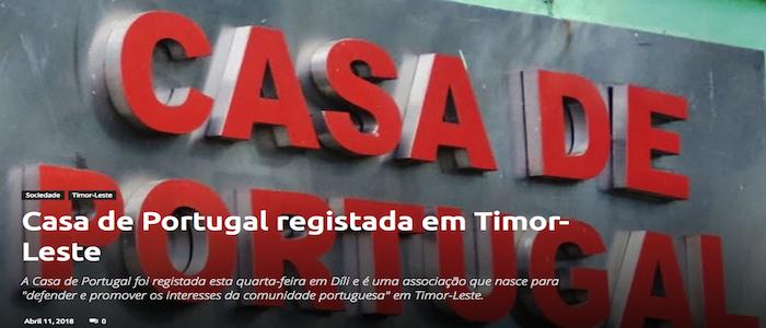 Ramos-Horta desafia Casa de Portugal a apoiar fortalecimento do português em Timor-Leste