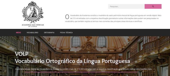 Academia das Ciências de Lisboa disponibiliza novo vocabulário ortográfico na Internet