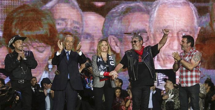 Rock in Rio: Zé Pedro homenageado com concerto emotivo e figuras de Estado em palco