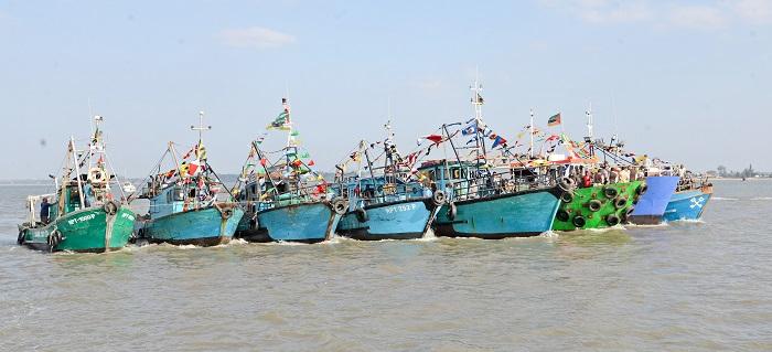 São Pedro partiu de Goa para comandar procissão na baía de Maputo