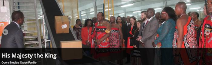 Chegou a hora de a Suazilândia mudar de nome também em português?