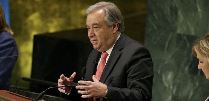 Secretário-geral da ONU reúne-se hoje com Presidente de Moçambique em Maputo