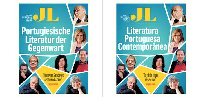 Jornal de Letras com edições especiais em alemão para feiras de Frankfurt e Leipzig