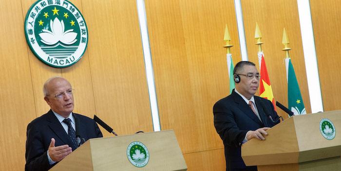 Projetos comuns de cooperação entre Portugal e Macau