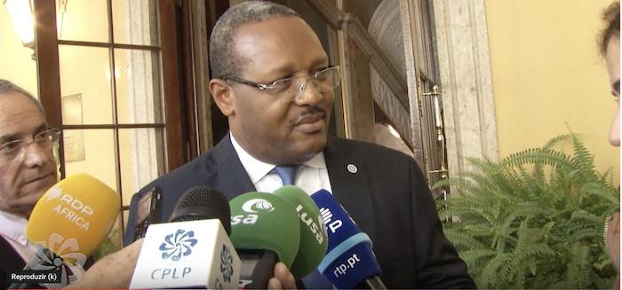 Declarações à Imprensa do Embaixador da Guiné Equatorial, Tito Mba Ada