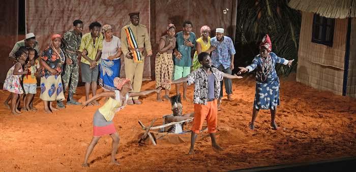 "A primeira ópera de Moçambique ""Mwango e Mwanga"""