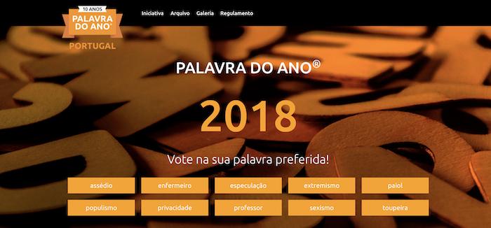 Palavra do Ano – Portugal