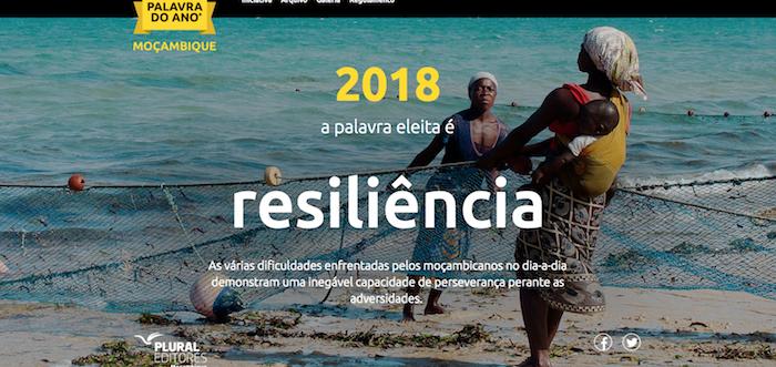 """""""Resiliência"""" é a """"Palavra do Ano"""" escolhida pelos moçambicanos"""