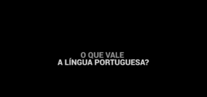 """""""A língua é a alma de um povo"""""""