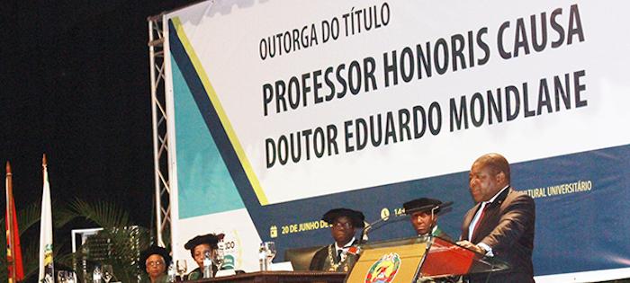 """Eduardo Mondlane recebe título póstumo de Professor """"Honoris Causa"""""""