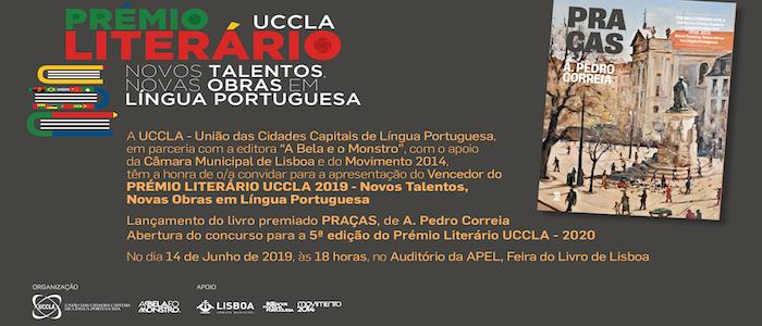 Apresentação Prémio Literário UCCLA, Feira do Livro 14 de junho