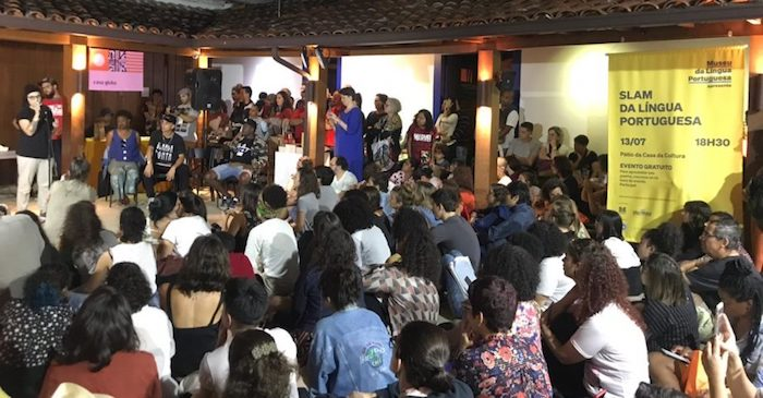 Artistas de Portugal e Cabo Verde conquistaram o público em batalhas de poesia falada na Flip
