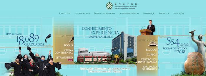 Governo autoriza abertura de doutoramento em Português no Politécnico de Macau