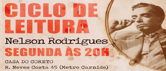 LEITURAS ENCENADAS por brasileiros e portugueses, sobre NELSON RODRIGUES