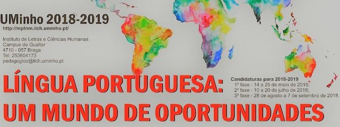 Mestrado em Português Língua Não Materna – Português Língua Estrangeira e Língua Segunda