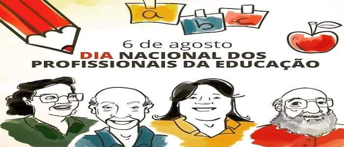 DIA NACIONAL DOS PROFISSIONAIS DE EDUCAÇÃO