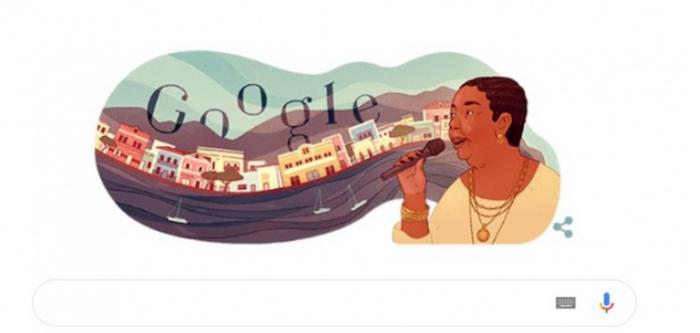 Google homenageia cantora cabo-verdiana Cesária Évora no dia em que faria 78 anos