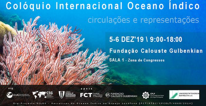 Colóquio sobre o Oceano Índico- Circulações e Representações