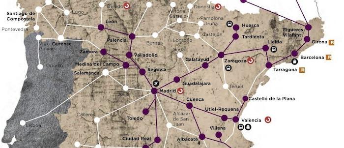Espanhola Renfe pede desculpa por divulgar mapa onde Vigo aparece em Portugal e…