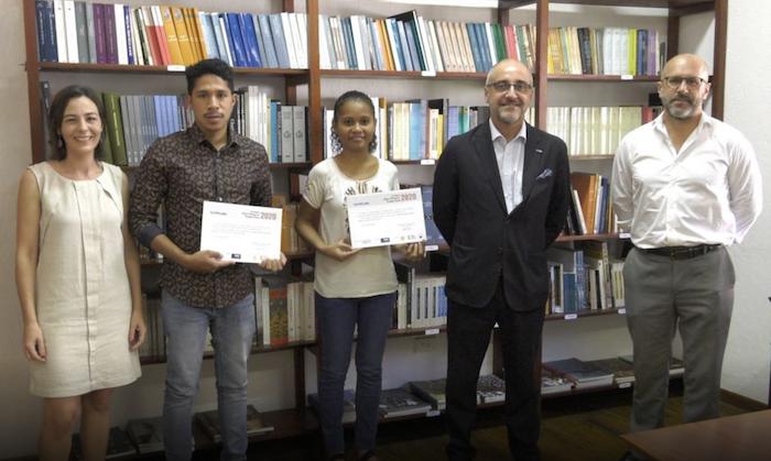 Estudantes da UNTL vencem VII Prémio de Língua Portuguesa em Díli