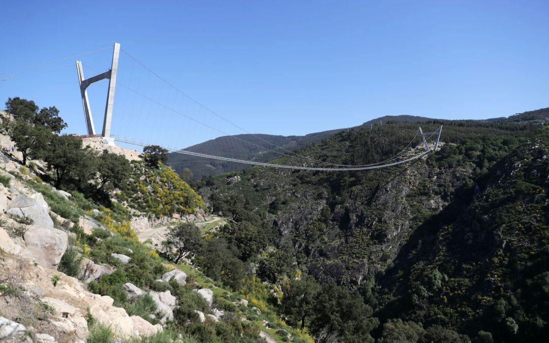 A maior ponte pedonal suspensa do mundo