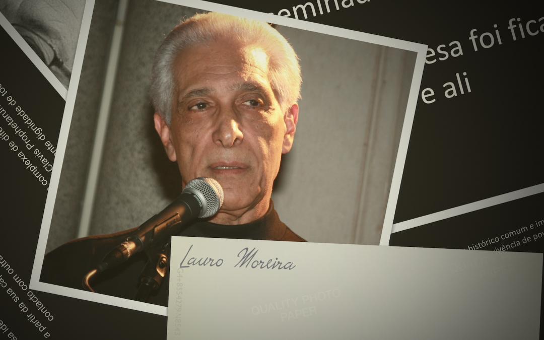 Palestra de Sexa. o Embaixador Lauro Barbosa da Silva Moreira.