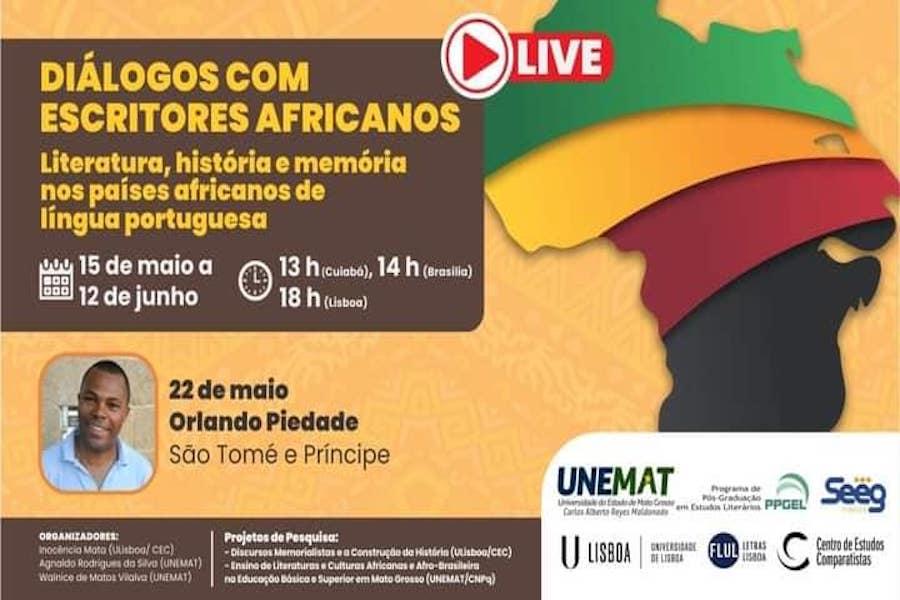Diálogos com escritores africanos : Orlando Piedade (São Tomé e Príncipe)