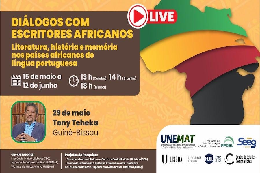 Diálogos com escritores africanos: Tony Tcheka (Guiné-Bissau)