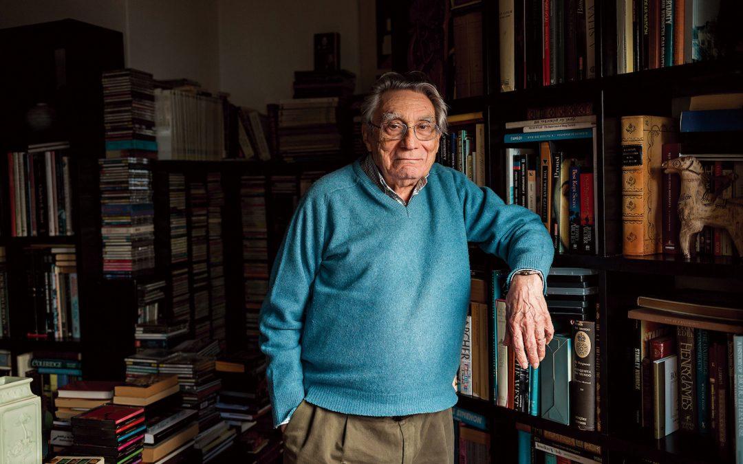Novo texto de Eugénio Lisboa (na foto), sobre José Régio um escritor que ele conhece muito bem: