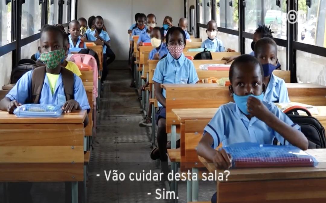 Beira usa machimbombos como salas de aula