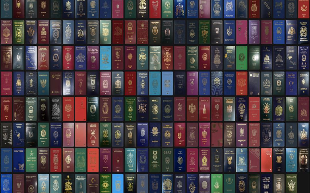 Ranking dos passaportes mais poderosos domundo