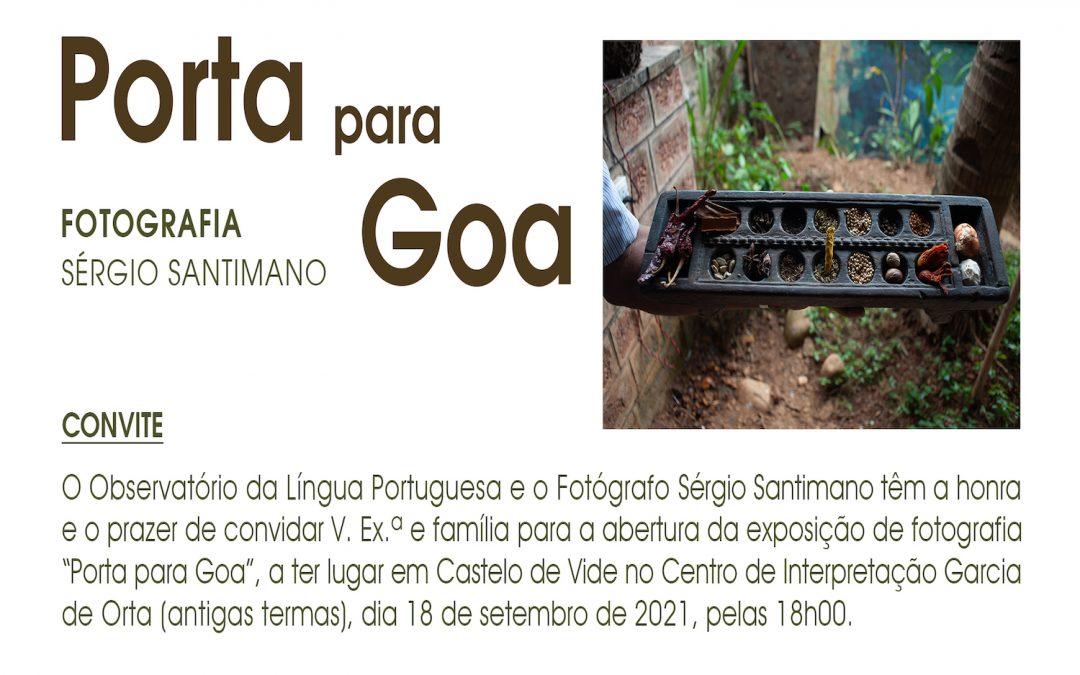 """Exposição """"Porta para Goa"""""""